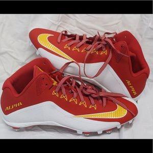 Nike Alpha Pro 2 Football Cleats size 13